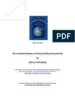 Summary of The Invisible Rainbow A History of Electricity and Life - Arthur Firstenberg