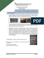 Relatório Missionario Fevereiro 2020