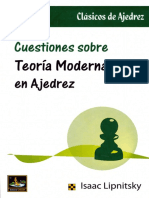 cuestiones sobre teoria moderna en el ajedrez