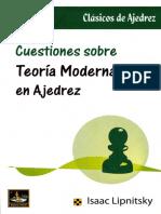 cuestiones modernas sobre la teoria de ajedrez