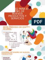 PROCESO DE DISEÑO DE NUEVOS PRODUCTOS Y SERVICIOS