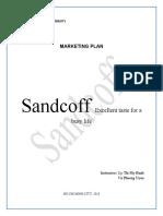Sandcoff Marketing Plan