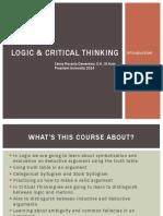 LOGIC & CRITICAL THINKING slides