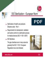 Ellab EtO Sterilisation