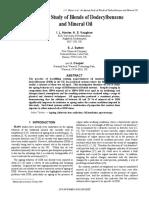 DODECILBENCENO - ACEITE SINTETICO PARA CABLES
