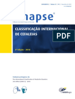 Classificação Internacional de Cefaleias