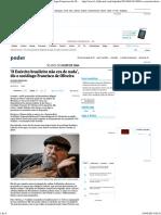 'O Exército brasileiro não era de nada', diz o sociólogo Francisco de Oliveira - 02_04_2014 - Poder - Folha de S.Paulo