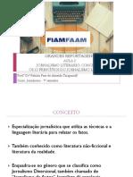 Aula 2 - Grandes Reportagens - Jornalismo Literário - Conceitos.ppt