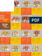 Catalogue of potato varieties and advanced clones 2011