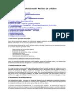 Principios básicos de la evaluación de créditos