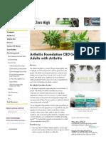 Arthritis Foundation CBD Guidance for Adults _ Arthritis Pain Management _ Arthritis.org