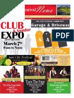 SCF March 2020 Newsletter