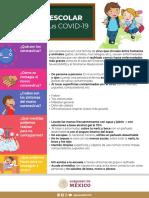 Recado escolar Coronavirus COVID-19