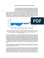 CALENTAMIENTO GLOBAL, CONCEPTO, CAUSAS Y CONSECUENCIAS