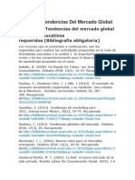 Unidad 1 - Tendencias Del Mercado Global