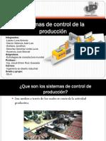 Sistemas de control de la producción