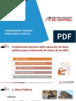 2. Fundamentos técnicos obras públicas