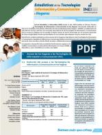 Uso de TIC - tercer trimestre 2019 - Perú