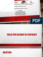 FALLA POR BLOQUE DE CORTANTE EXPOSICION