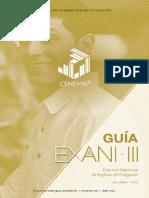 EXANI III 2019 Examen Ceneval Actualizado