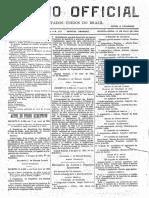 Decreto Lei de Criação da EPBA em 09-05-1898