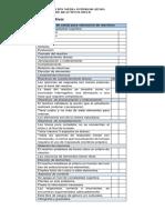Lista de cotejo para la evaluaci+¦n de reactivos