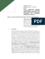 Apelación de sancion administrativo preventiva PNP