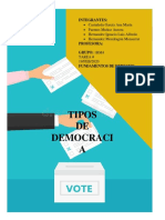 tipos de democracia-derecho