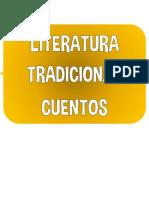 literatura tradicional - cuentos