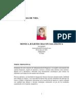 HOJA DE VIDA MONICA CHACON