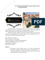 A FEASIBILITY STUDY ON THE
