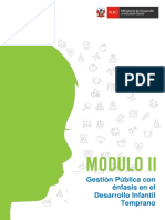 Gestión Pública DIT Modulo II