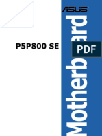 Manual Asus P5P800 SE