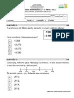 1º SIMULADO DE MATEMÁTICA- 4º ANO- 2019.docx