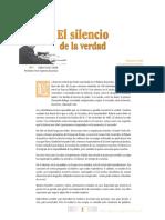 EL SILENCIO DE LA VERDAD- Corte Suprema de Justicia, Revista 20