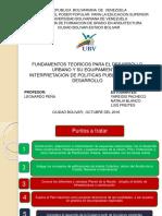 Desarrollo urbano y su equipamiento e interpretacion de politicas publicas para su desarrollo