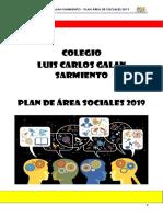 PLAN DE AREA DE SOCIALES 2019 C[11695]