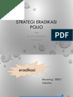 Strategi eradikasi polio