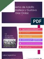 Gobierno de Adolfo López Mateos y Gustavo Diaz
