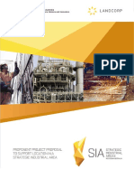 SIA PROPONENT PROJECT PROPOSAL TO SUPPORT LOCATION IN A STRATEGIC INDUSTRIAL AREA
