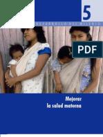 5- Mejorar La Salud Materna