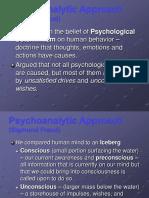 Psychoanalytic Approach