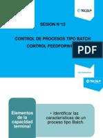 Sesión N°12   Procesos tipo batch