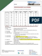 Alucrete Quotation w e f  01-03-2020