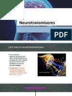 Neurotransmisores 2020