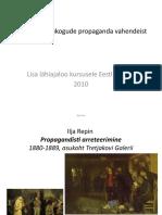 Ülevaade nõukogude propaganda vahendeist