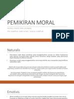 TOPIK 2 - PEMIKIRAN MORAL