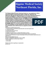 PMS 2020 Scholarship Cover Letter