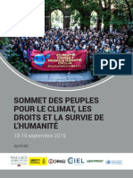 Peoples' Summit Report FR