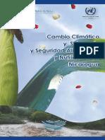 Cambio Climático y Soberanía y Seguridad Alimentaria y Nutricional en Nicaragua
